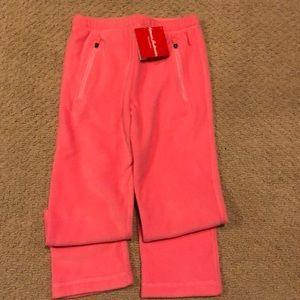 NWT Hanna Andersson Pink Fleece Sweatpants 120 6
